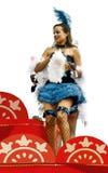cabarette danser. Carnaval Royalty-vrije Stock Foto
