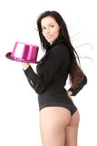Sexy carnival girl Royalty Free Stock Photo