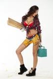 Sexy Carpenter Stock Photo