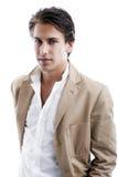 Sexy charismatic businessman Stock Photos