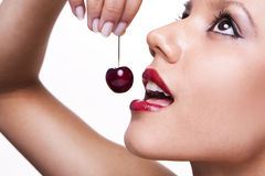 Sexy cherries Royalty Free Stock Images