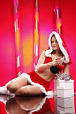 Sexy Christmas Stock Photo