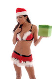 Sexy Christmas Elf Stock Image