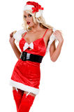 Sexy Christmas Elf Stock Photos