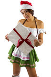 Sexy Christmas Elf Stock Images