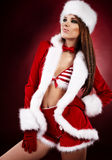 Sexy christmas girl Royalty Free Stock Photography