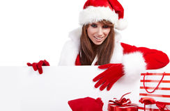 Sexy christmas girl Royalty Free Stock Images