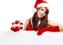 Sexy christmas girl Royalty Free Stock Photo
