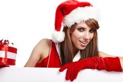 Sexy christmas girl Royalty Free Stock Image