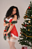 Sexy Christmas women Stock Photography
