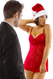 Sexy Christmas Stock Photography