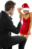 Sexy Christmas Stock Images