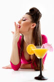 Sexy cocktail Stock Photos
