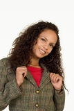 & Confident. Successful Business Woman in casual work outfit Royalty Free Stock Images