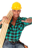 Sexy construction worker Royalty Free Stock Photo