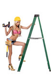Sexy Construction Worker Royalty Free Stock Photography