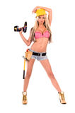 Sexy Construction Worker Royalty Free Stock Photos