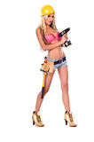 Sexy Construction Worker Stock Photo