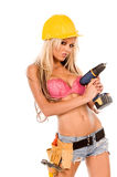 Sexy Construction Worker Stock Photos
