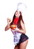Sexy cook Stock Image