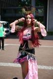 Sexy cos-play girl posing Royalty Free Stock Photo