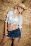 Sexy Country Girl Royalty Free Stock Images