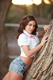 Sexy Country Girl Royalty Free Stock Photos