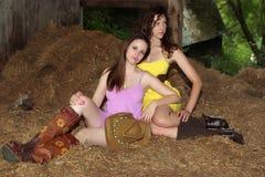 Country Girls Stock Photo