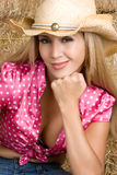 Sexy Country Woman Stock Photography