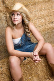 Sexy Country Woman Stock Image