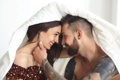 Sexy Couple In Love Stock Image