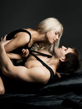 Sexy couple Stock Photography