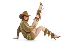 Sexy cowboy Royalty Free Stock Photography