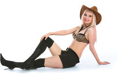 Sexy cowboy Stock Images