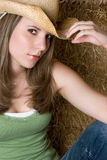Sexy Cowgirl Royalty Free Stock Images