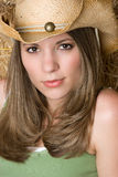 Sexy Cowgirl Stock Image