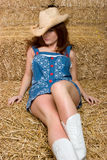 Sexy Cowgirl Royalty Free Stock Photo