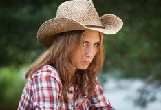 cowgirl. Royalty Free Stock Image