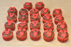 Sexy cupcakes Stock Images
