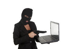 Sexy cybercrime Stock Photo