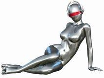 Sexy Cyborg Stock Photography