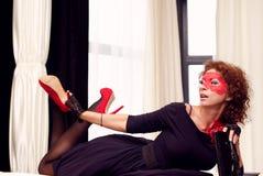 Sexy dame Stock Foto