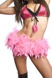 Sexy dancer girl Stock Photo