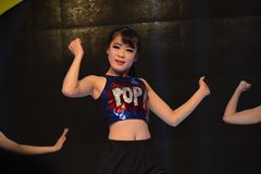 sexy dancing girls Stock Image