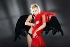 Sexy demon Royalty Free Stock Image