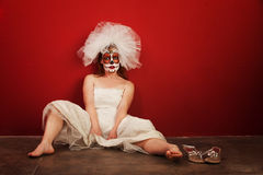 Sexy on Dia De Los Muertos Royalty Free Stock Images