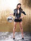 Sexy Disco Girl Royalty Free Stock Photo