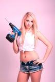 Sexy DIY blond. Stock Image