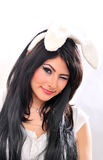 Sexy easter bunny girl Royalty Free Stock Photos