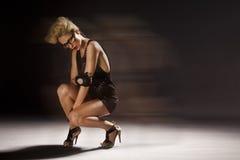 Sexy elegant woman Stock Photography